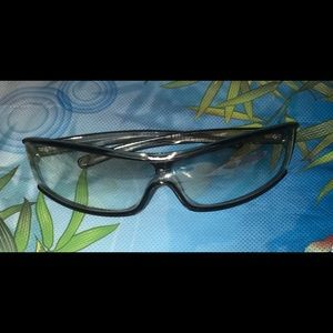 Burberry unisex translucent gray glasses